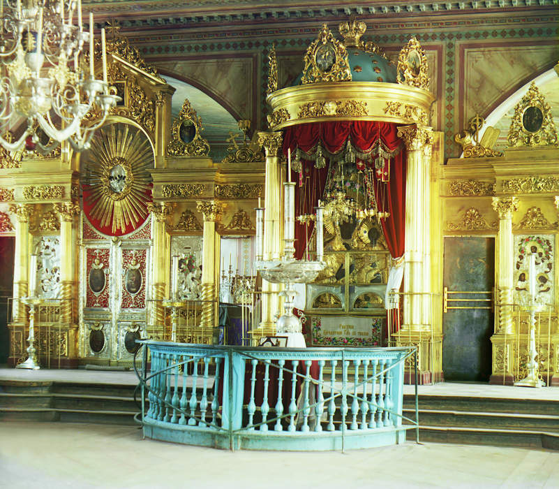 Shrine: Holy or sacred place, which is dedicated to a specific deity