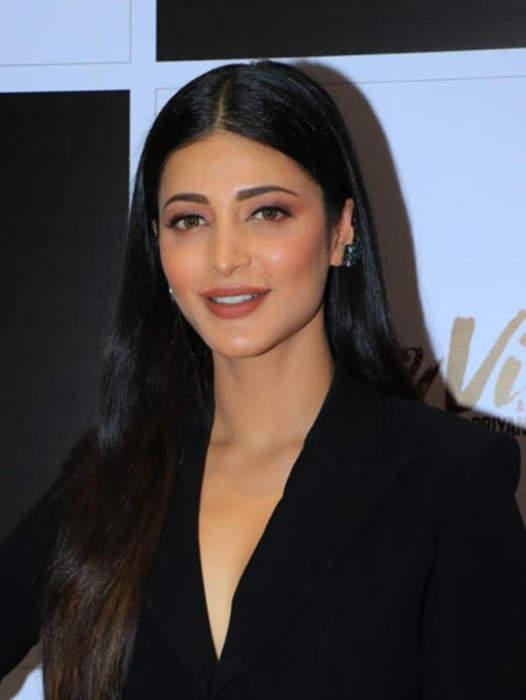 Shruti Haasan: Indian actress and singer