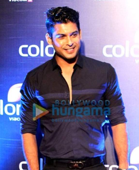 Sidharth Shukla: Indian actor and model