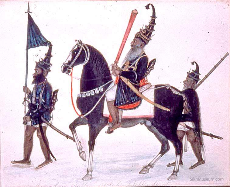 Sikhs: Members of the Sikh religion