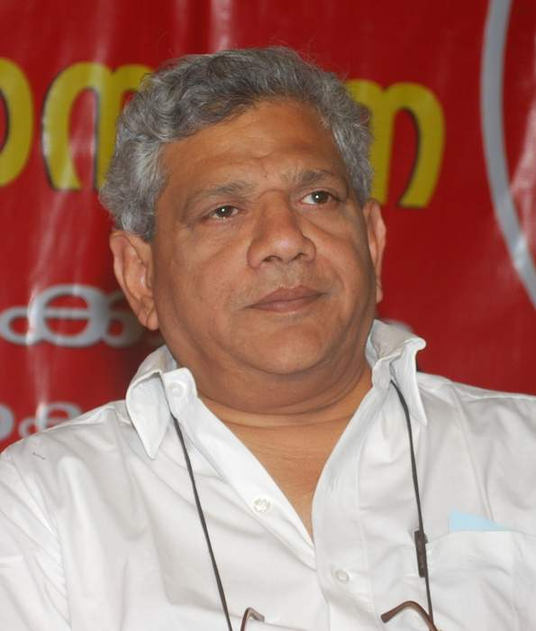 Sitaram Yechury: Indian politician