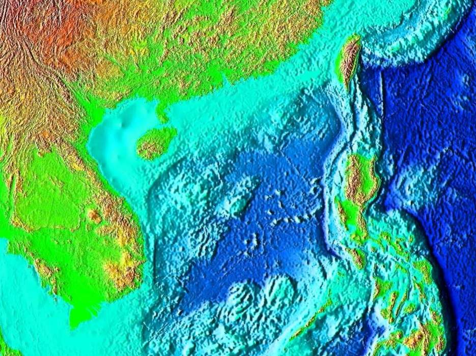 South China Sea: Marginal sea of the Western Pacific Ocean