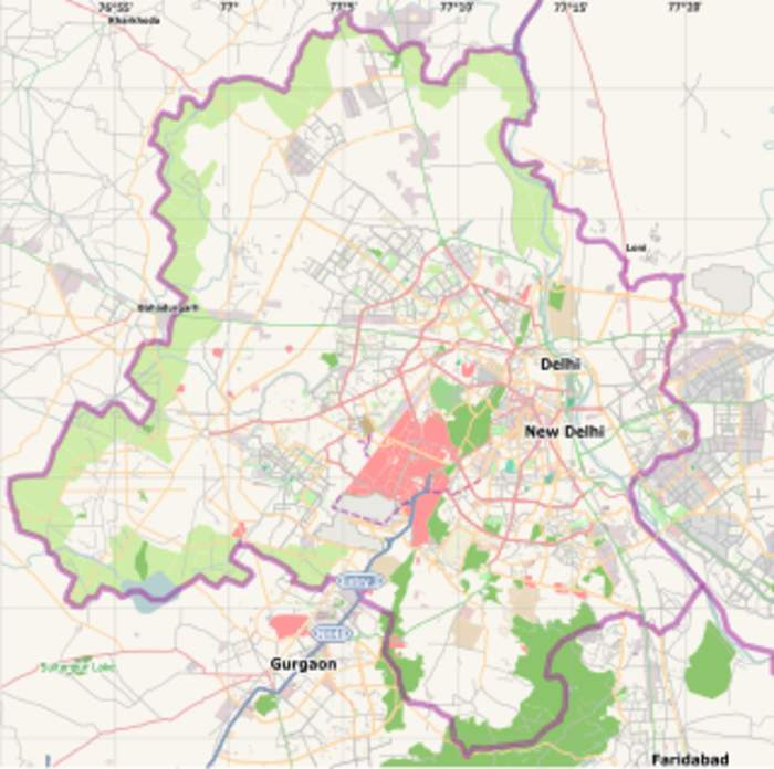 South Delhi: District of Delhi in India