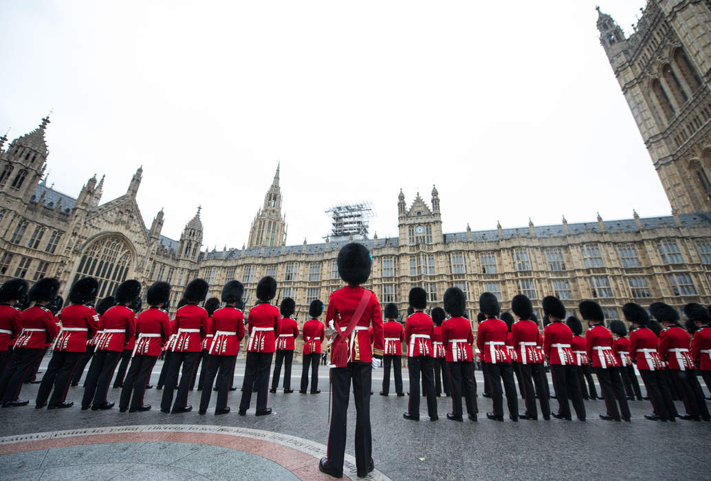 State Opening of Parliament: Ceremonial event marking the beginning of a session of the UK Parliament