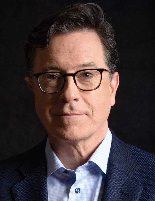 Stephen Colbert: American comedian, writer, actor, and television host