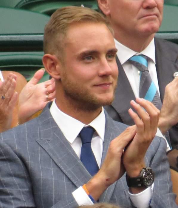 Stuart Broad: English cricketer