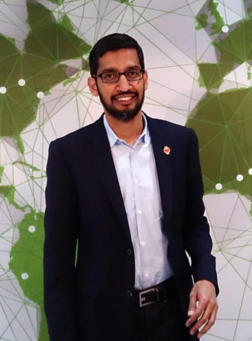 Sundar Pichai: Indian-American engineer and business executive