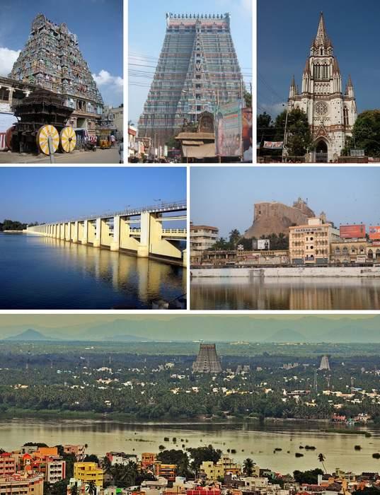 Tiruchirappalli: Metropolis in Tamil Nadu, India