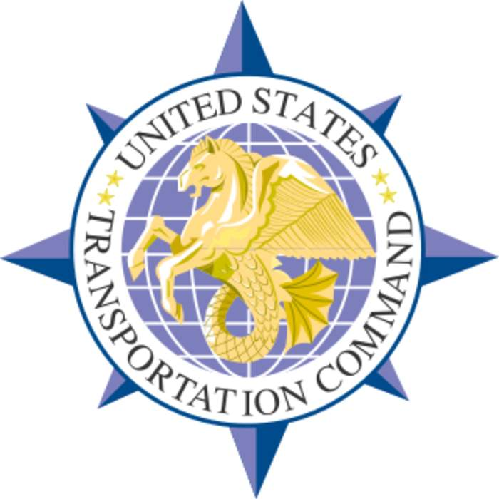 United States Transportation Command: Unified combatant command of the United States Armed Forces responsible for transportation operations