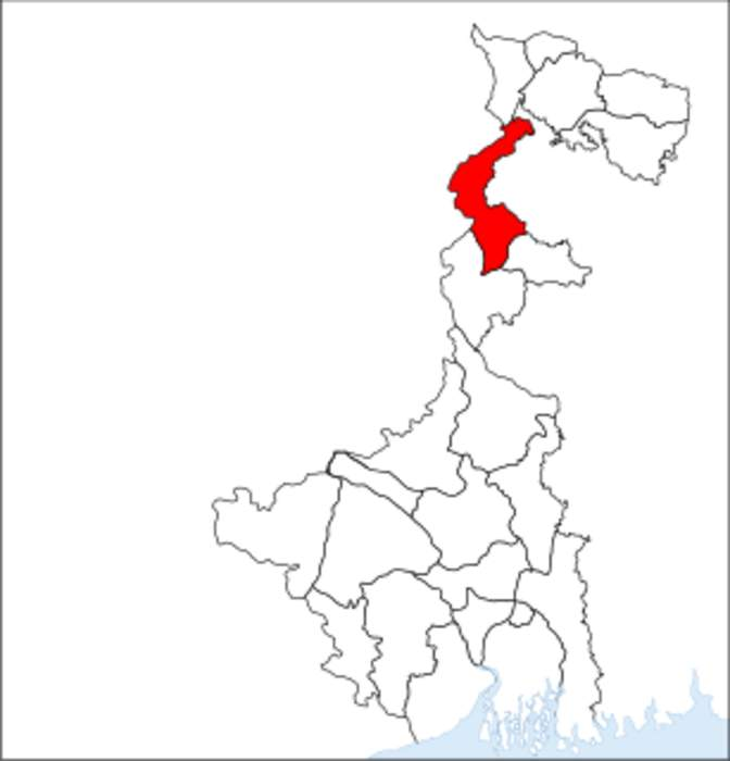 Uttar Dinajpur district: District of West Bengal in India