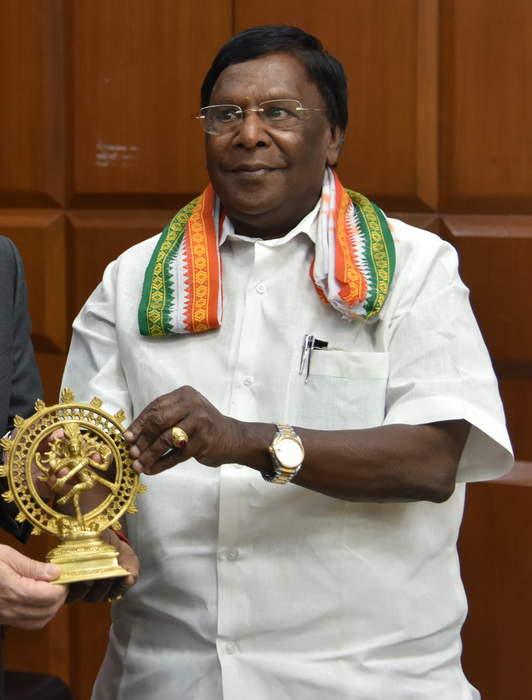 V. Narayanasamy: Indian politician