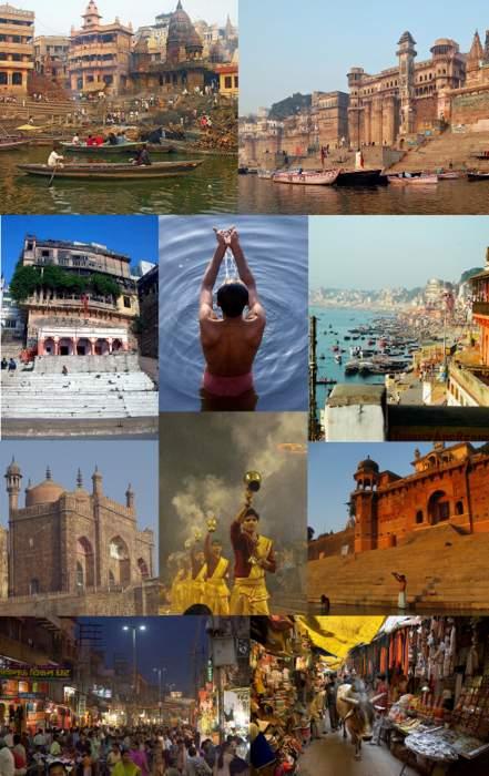 Varanasi: Metropolis in Uttar Pradesh, India