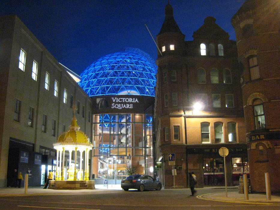 Victoria Square Shopping Centre: Shopping mall in Belfast, Northern Ireland