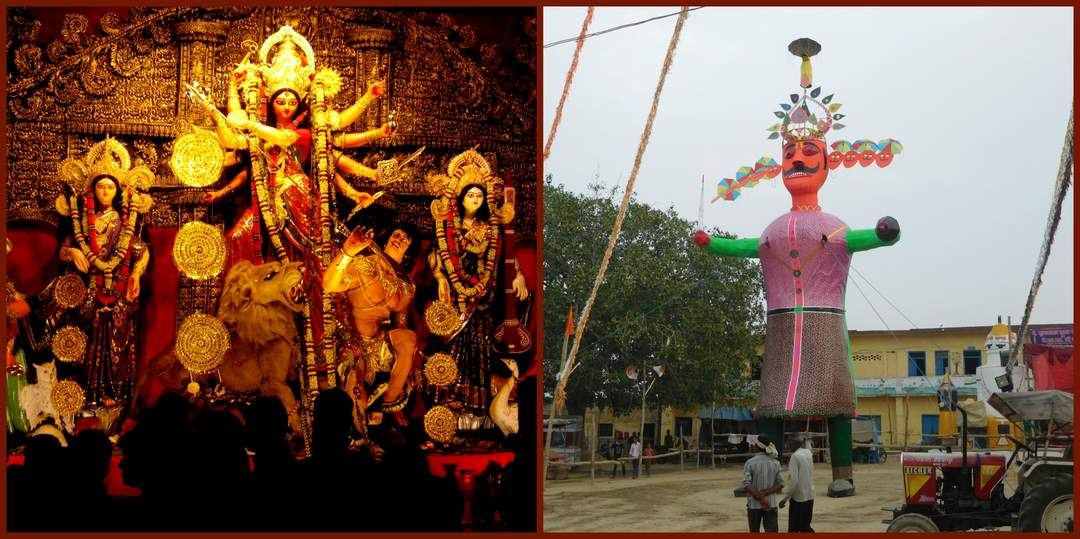 Vijayadashami: Annual Hindu festival, celebrated at the end of Navaratri