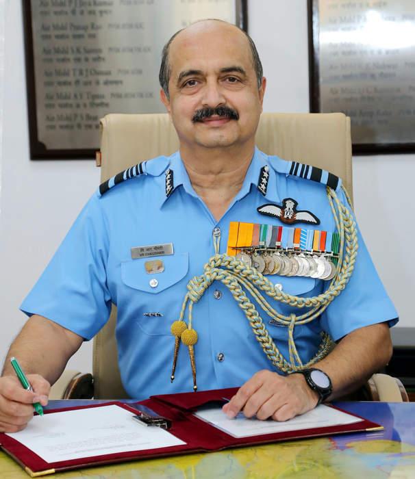 Vivek Ram Chaudhari: Chief of the Indian Air Force