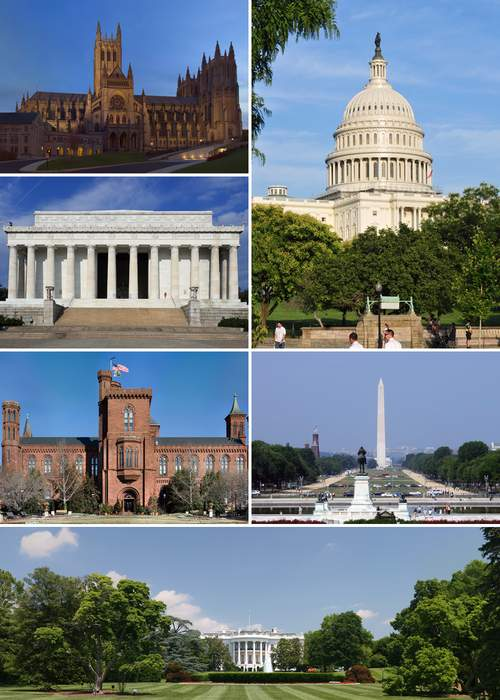 Washington, D.C.: Capital district of the United States of America