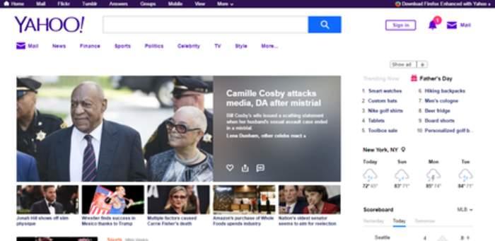 Yahoo!: Web portal
