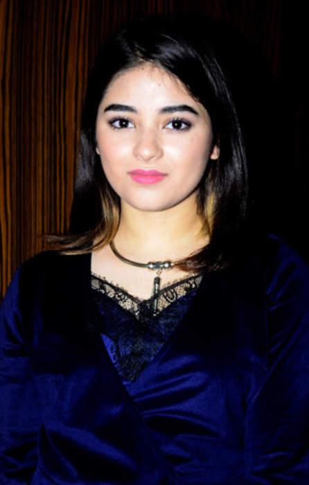 Zaira Wasim: Indian actress